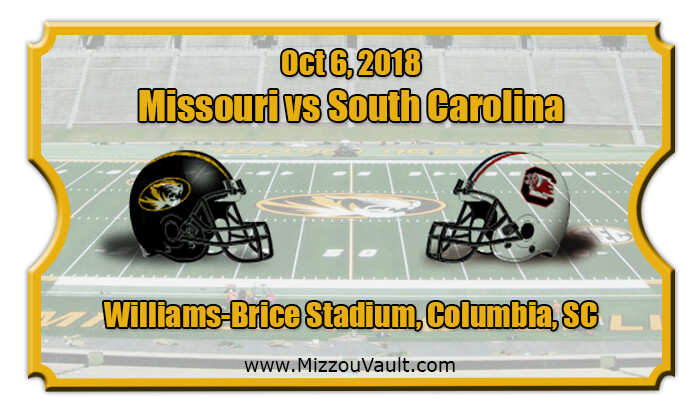 2018 Missouri Vs South Carolina